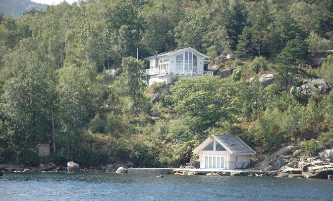 Casas en Lysefjord
