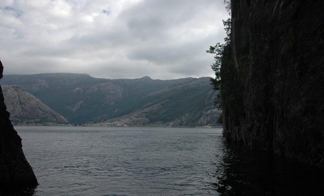 Rincon en Lysefjord