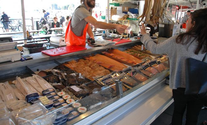 Mercado de Pescado. Bergen.