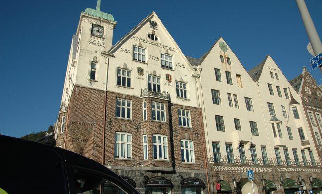 Símbolos alemanes en Bergen