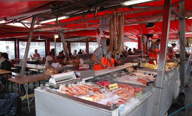 Mercado del Pescado. Bergen.