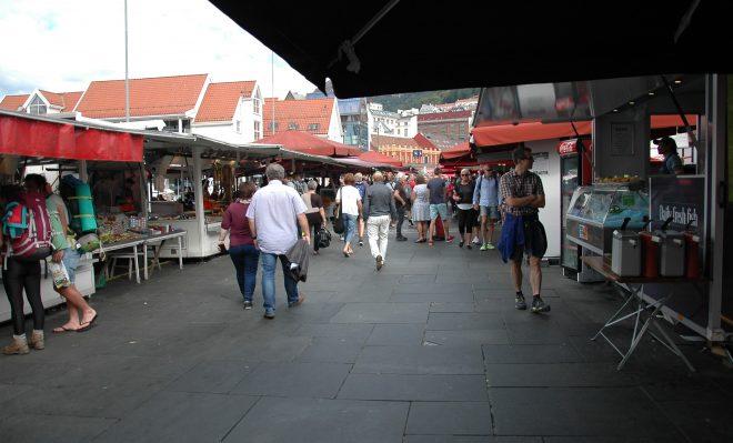 Mercado del Pescado. Bergen