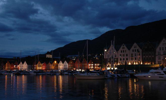 Bergen de noche