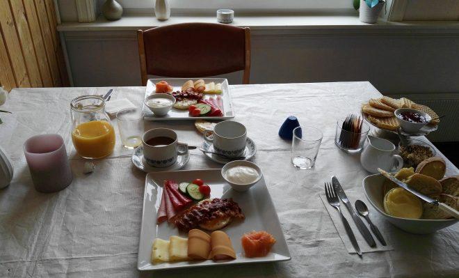 Desayuno en Geiranger