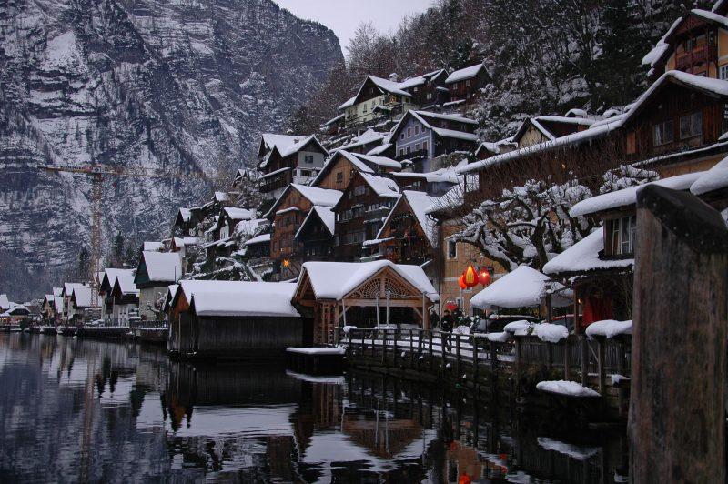 Hallsttat, un pueblo de cuento Hallstat. El pueblo más bonito de Austria