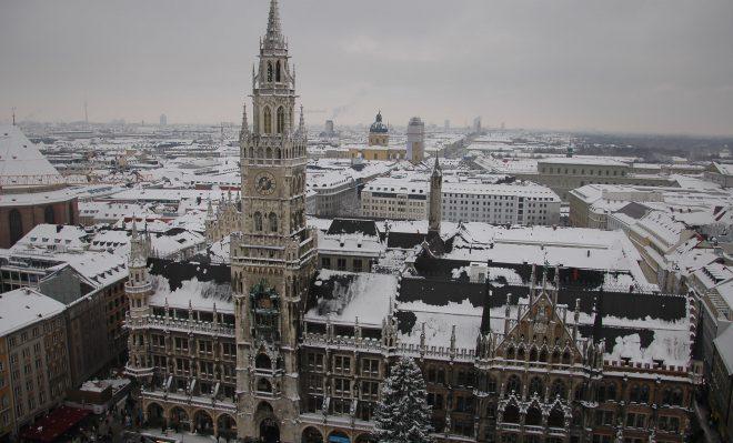 Día 1.  Llegada a Munich Una Nochevieja en Munich