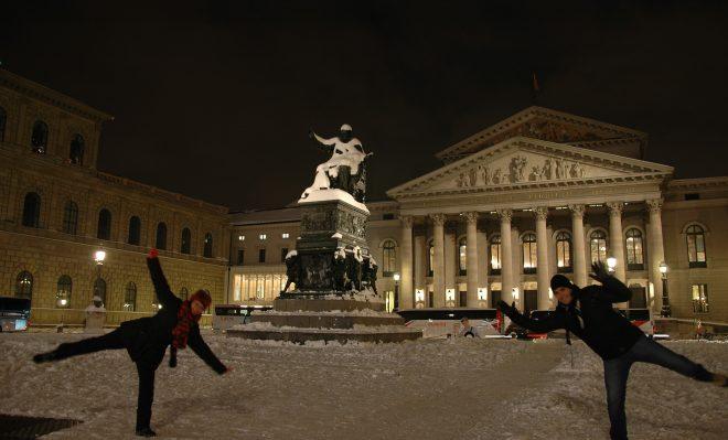 Disfrutando en Munich