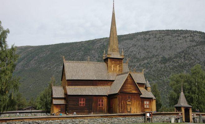 Iglesia de madera