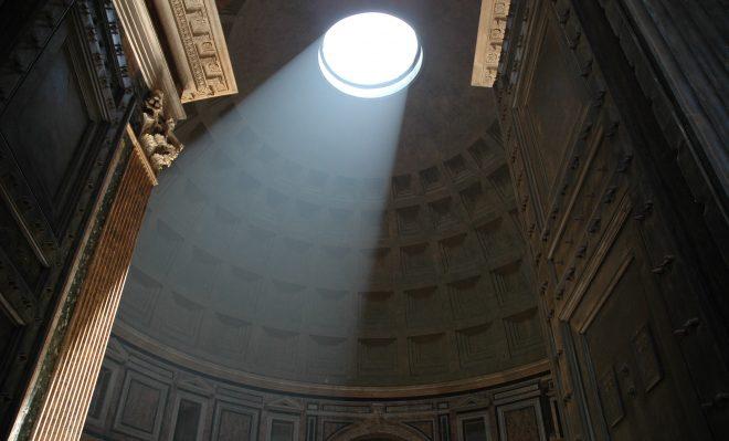 Óculo del Panteón de Roma