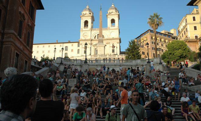 Escalinata de la Plaza de España