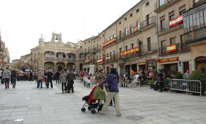Plaza Mayor en Ciudad Rodrigo