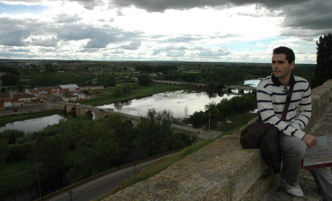 Vistas desde el castillo de Ciudad Rodrigo