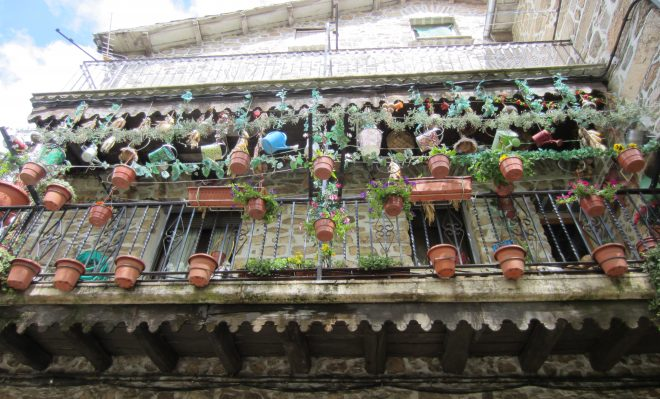 Casas decoradas en La Alberca