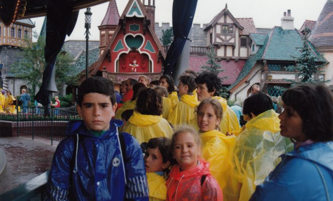 En Eurodisney en 1993