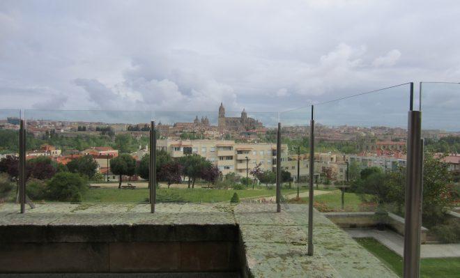 Vistas de Salamanca desde la terraza del Parador