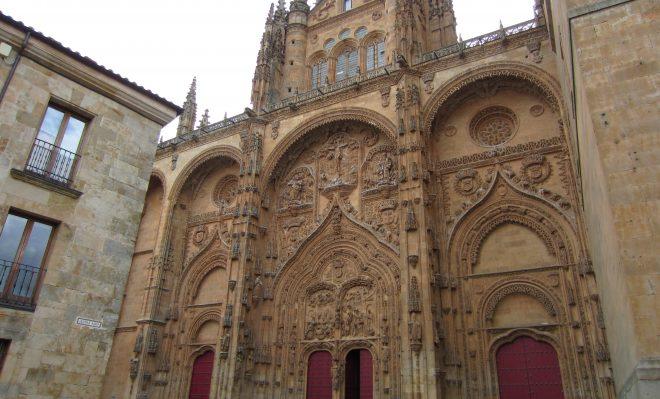 Fachada de la Catedral Nueva