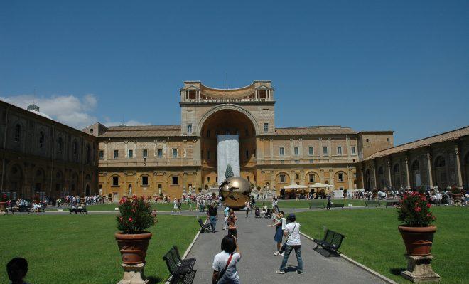 Jardín de los Museos Vaticanos