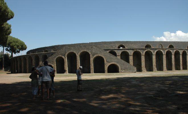 Exterior del anfiteatro