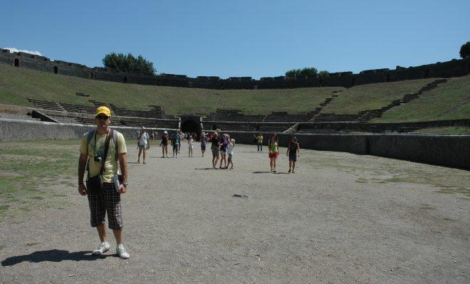 Interior del anfiteatro