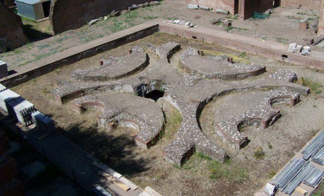 Fuente de la Domus Augustana
