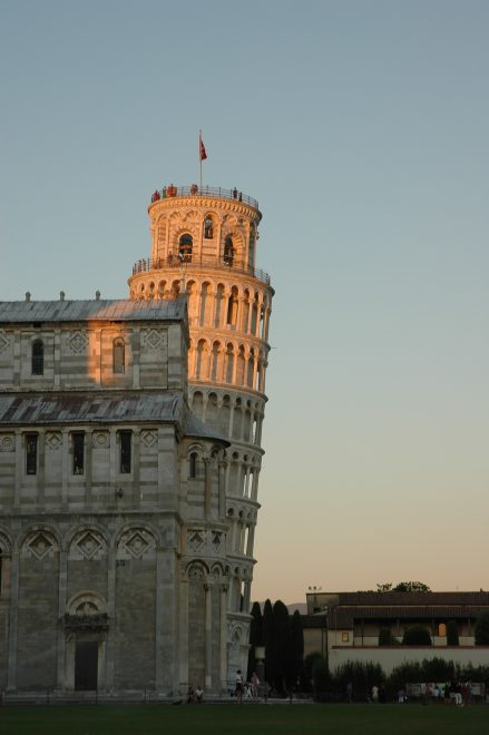 Torre inclinada de Pisa