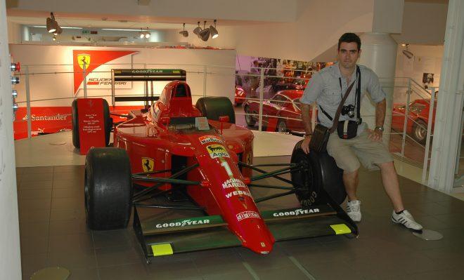 Ferrari de Alain Prost