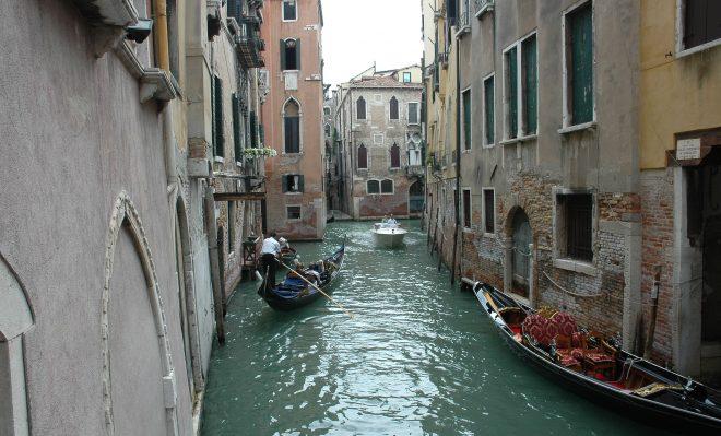 Un canal cualquier en Venecia