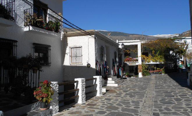 Típica arquitectura de Pampaneira
