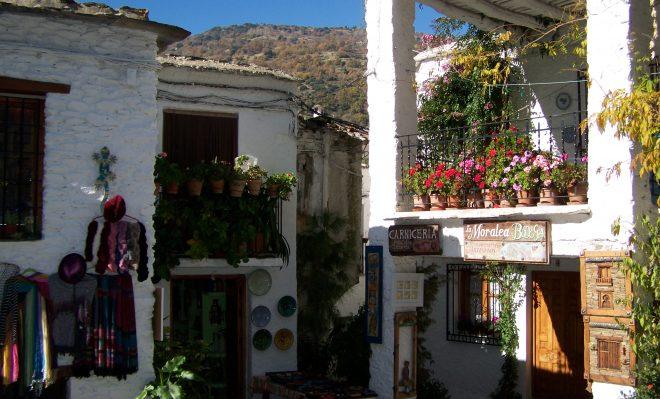 Encantador rincón de Pampaneira
