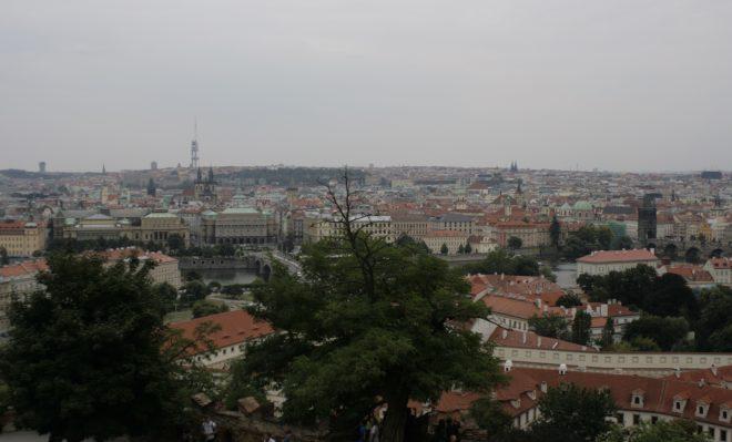 Vistas desde la torre Terezin