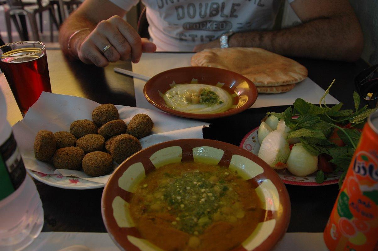 Comida típica jordana