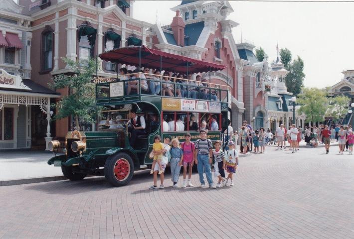 Viaje a EuroDisney en 1993
