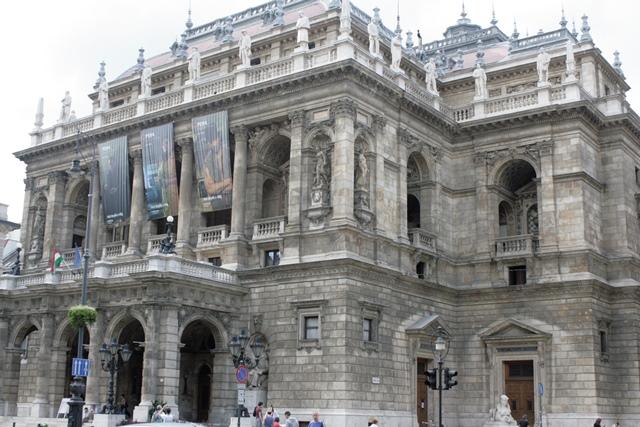 Fachada exterior de la Ópera