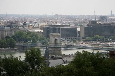 Vistas del puente desde el Bastión de los Pescadores