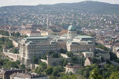 Vistas del exterior del Palacio Real