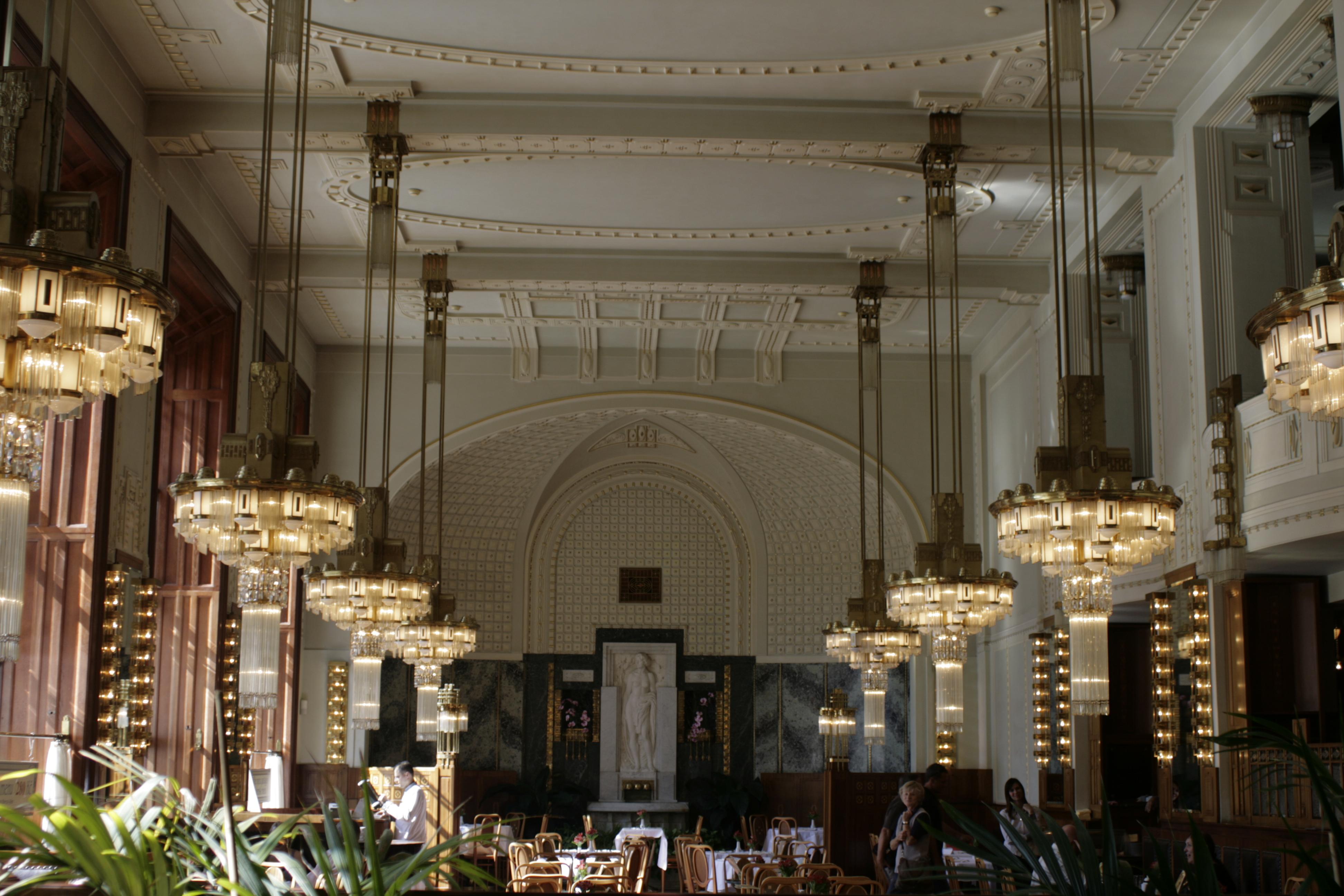 Interior de la Casa Municipal