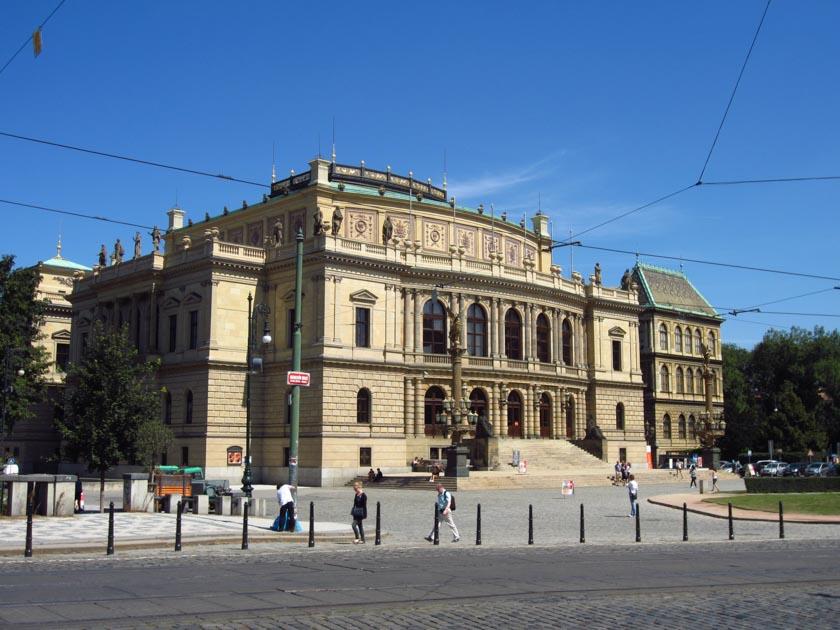 Fachada exterior del Rudolfinum