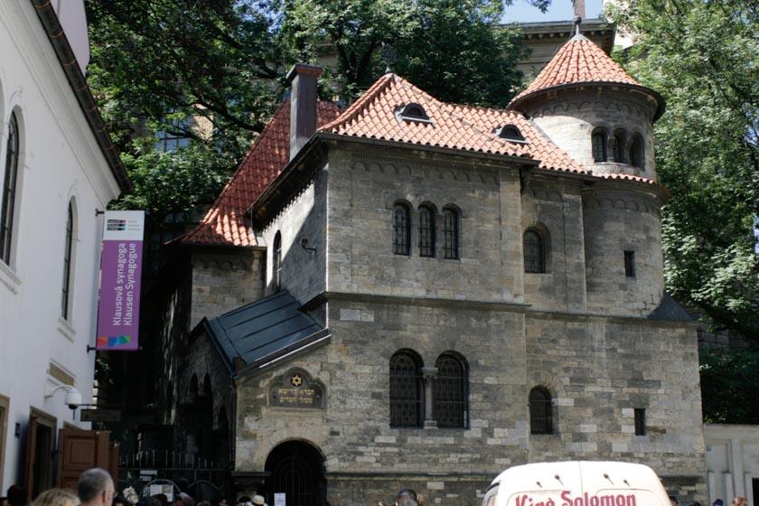 Exterior de la Sinagoga Klaus