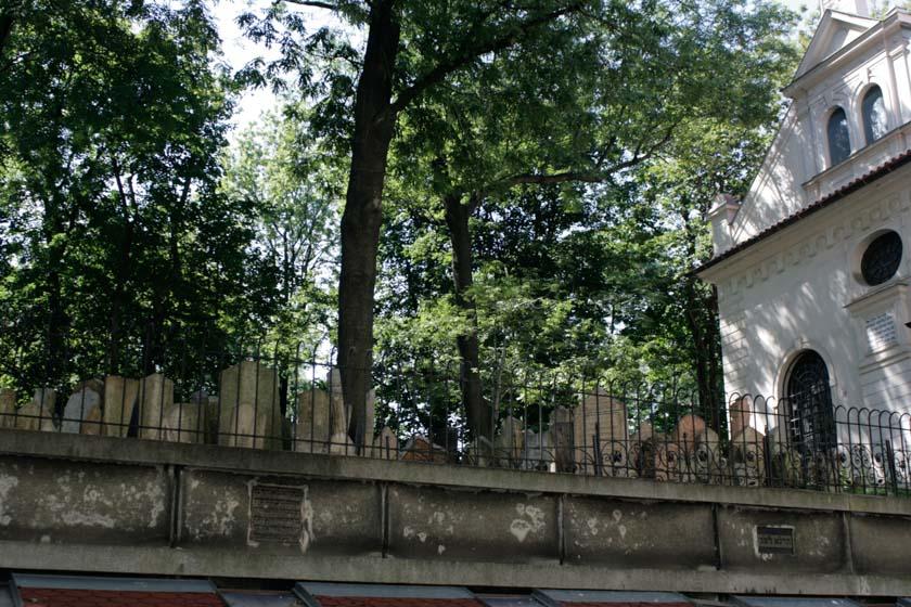 Vistas del cementerio desde la calle