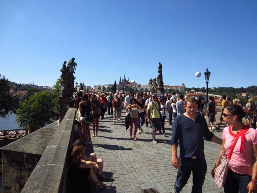 Parece ser que no éramos los únicos turistas...