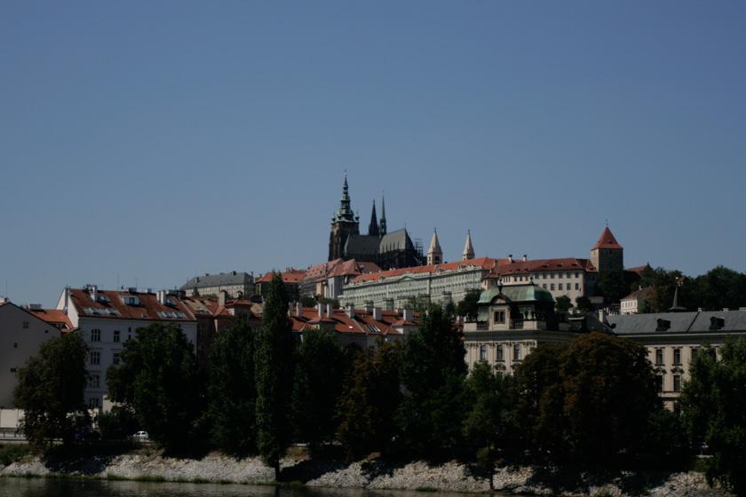 Vistas de la Catedral de San Vito desde Stare Mesto