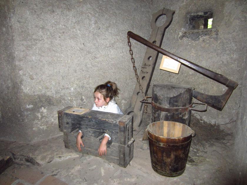 Elementos de tortura de la Torre Daliborka