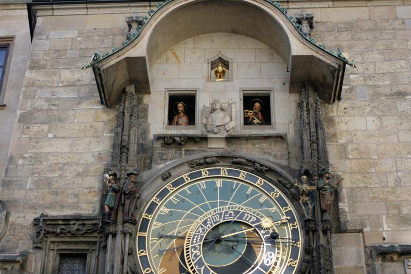 Figuras del reloj