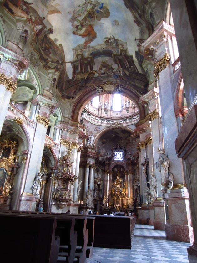 Detalles del interior de la Iglesia de San Nicolás