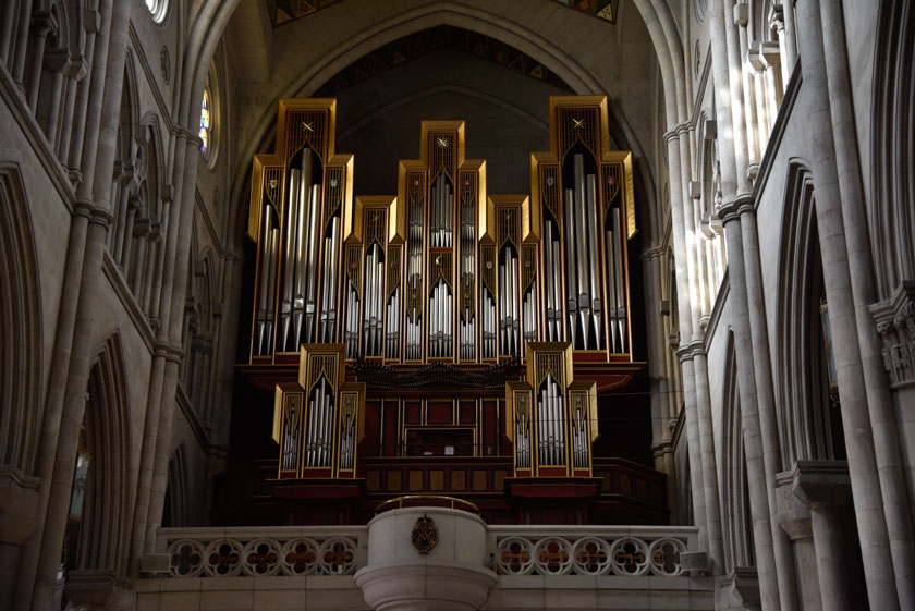 Precioso órgano de La Almudena