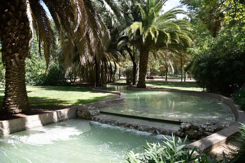 Preciosos interiores del Parque del Retiro