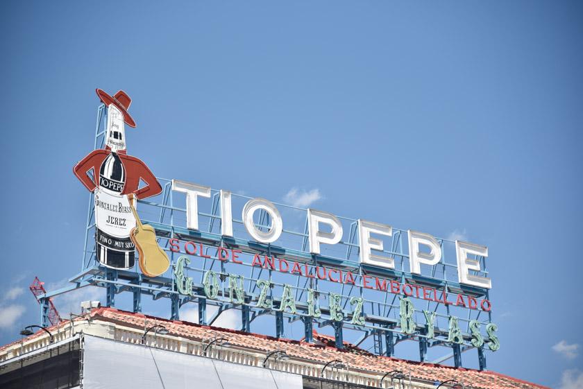 Mítico cartel del Tío Pepe