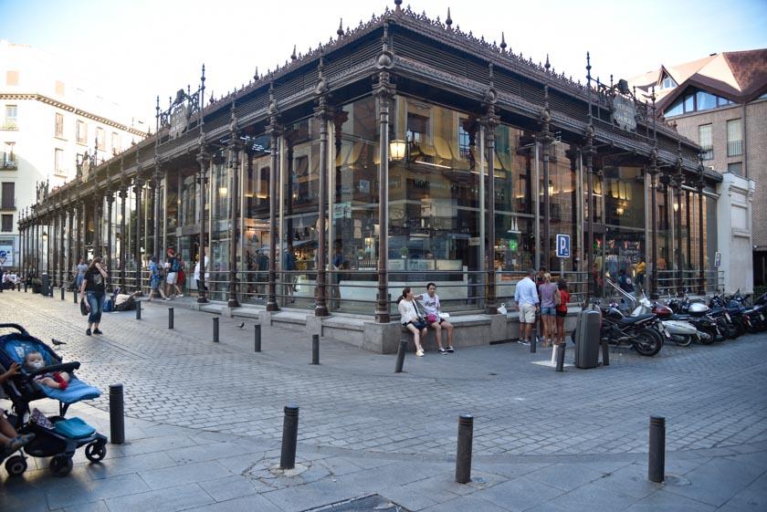 Fachada del Mercado de San Miguel