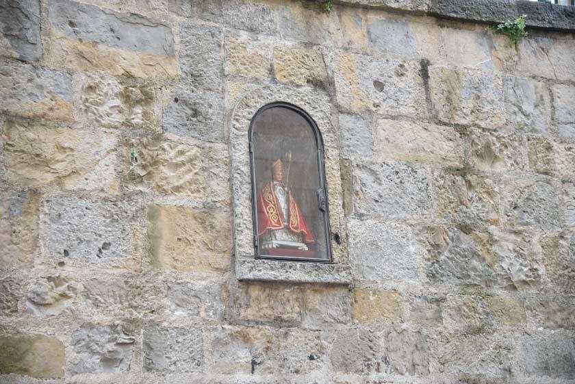 Hornacina de San Fermín