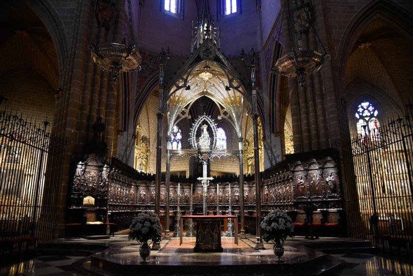 Coro de la Catedral de Pamplona
